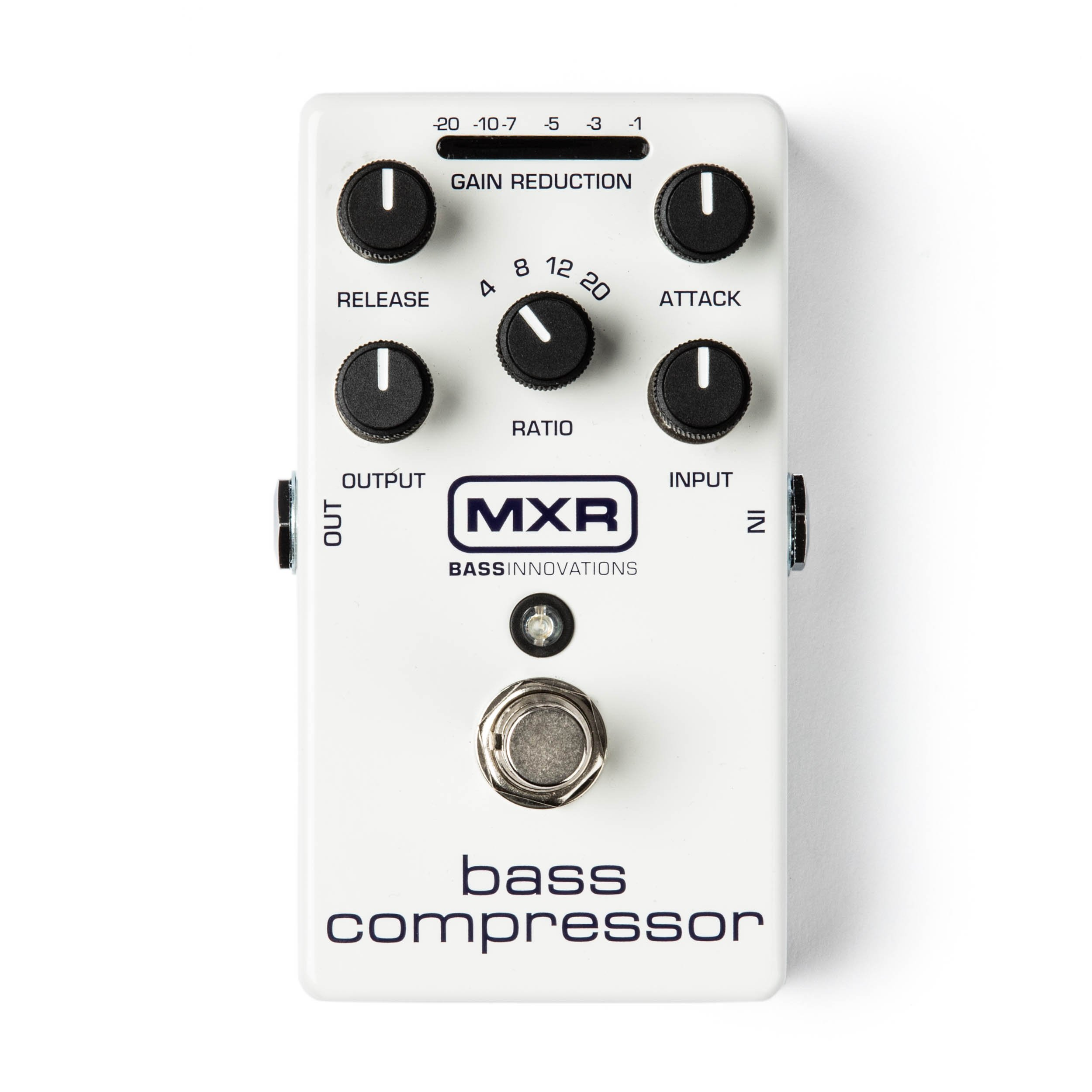 M87 MXR Bass Compressor + Power adapter and cables!