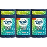 Tom's of Maine Wicked Cool Deodorant for Boys Freestyle 2.25 Oz (Pack of 3)