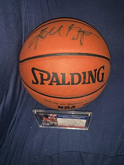 061b0e94f51 Kobe Bryant Autographed Signed All Surface Basketball PSA/DNA La Lakers B  15042 - Authentic