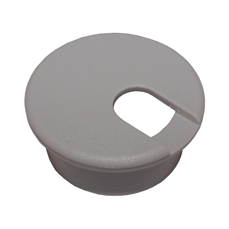 1 1 2 Gray Desk Grommet 1 pc.