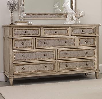 Hooker Furniture Sanctuary Ten Drawer Dresser In Pearl Essence