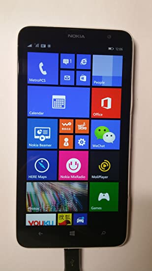 uk availability 697b6 91bd9 Amazon.com: Nokia Lumia 1320 White Factory Unlocked GSM ...