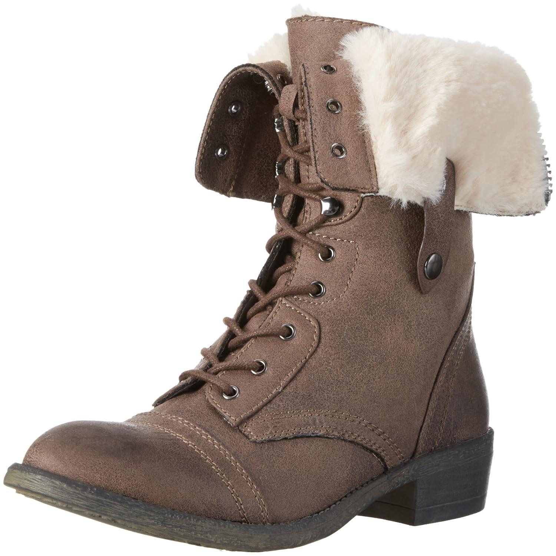 Buffalo Damen Y278c-y258-107 P2066c Pu Combat Stiefel