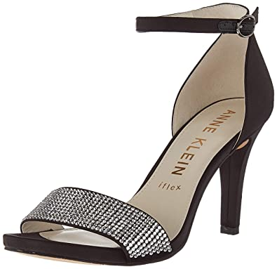 67a7e7d2b70 Anne Klein Women s Odree Ankle Strap Evening Sandal Heeled