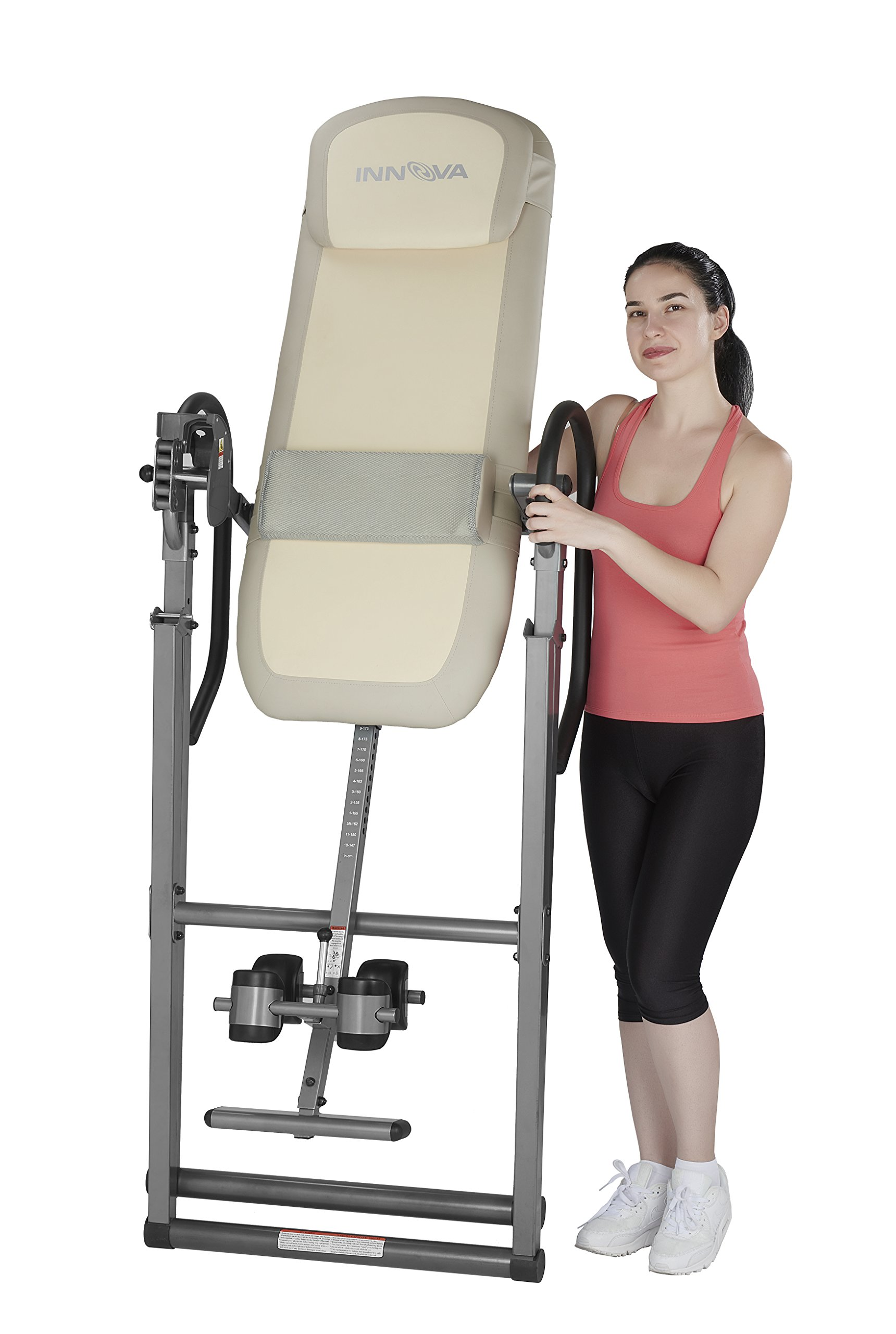 Innova ITX9700 Memory Foam Inversion Table with Lumbar Pad for Hot and Cold Compress by Innova Health and Fitness (Image #3)