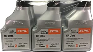 STIHL 0781 313 8007 5.2 Ounce High Performance Ultra 2 Cycle Engine Oil, 6 Pack