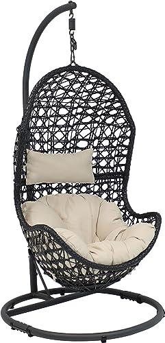 Sunnydaze Cordelia Hanging Egg Chair