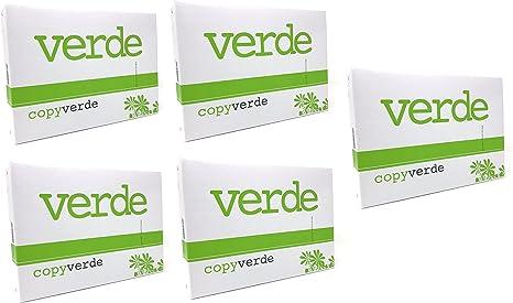 Papel formato A4 de 75 gramos, ultra blanco, para impresora y ...