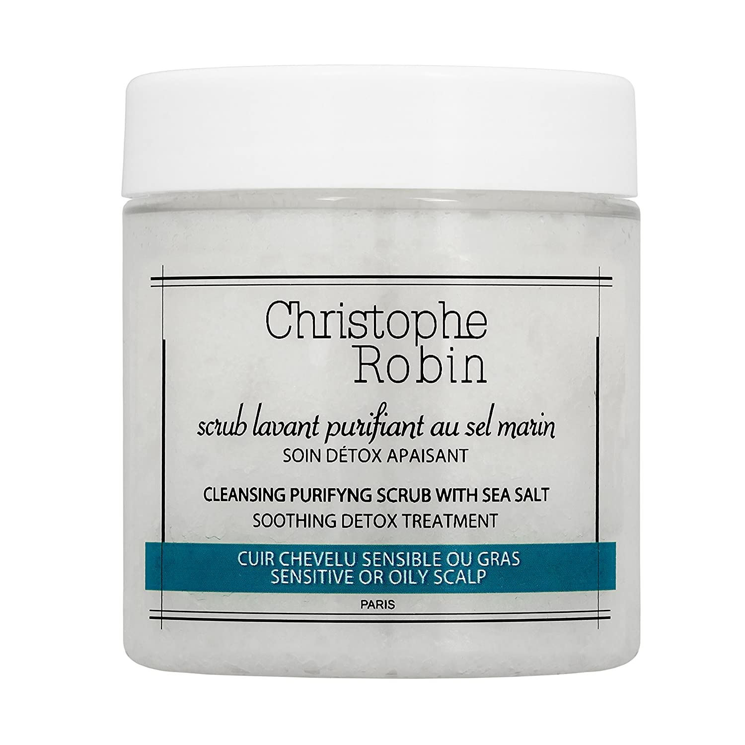 Christophe Robin Cleansing Purifying Scrub with Sea Salt - 75 ml