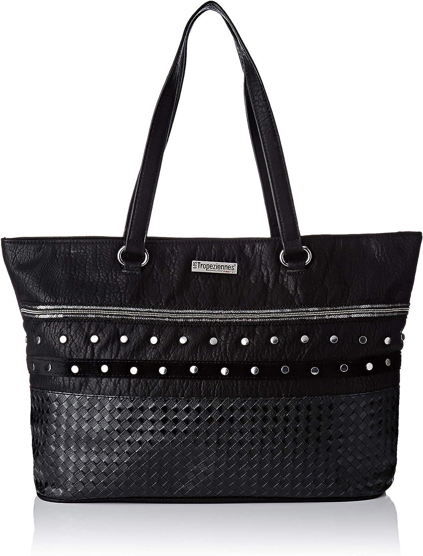 Les Tropeziennes femme PUM01-TZ-BLACK Sacs portes epaule Noir BLACK