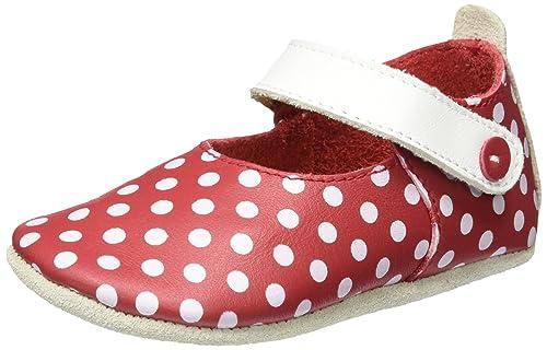 Bobux Mary Jane Rote Pünktchen, Mocasines para Bebés: Amazon.es: Zapatos y complementos