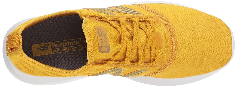 New Balance Women's Coast V4 FuelCore Running Shoe B075R6VGVF 10 D US|Brass