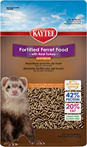 Kaytee Premium Ferret Food With Chicken, 4-Ib