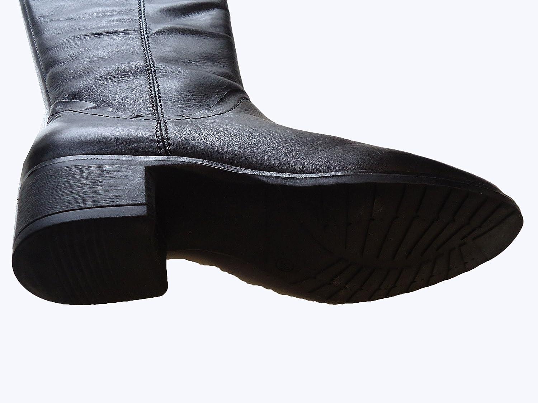 Amia Amia Amia Damen Stiefel schwarz, Leder, 1631213/40 - 4a9a90
