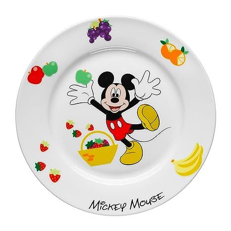 WMF Disney Mickey Mouse - Plato para niños de porcelana, Ø19cm (WMF Kids infantil