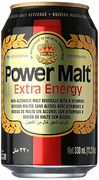 Power Malt Extra Energy Beverage Drink
