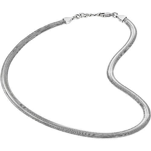 piuttosto bella selezione premium online collana uomo gioielli Breil Viper trendy cod. TJ2249