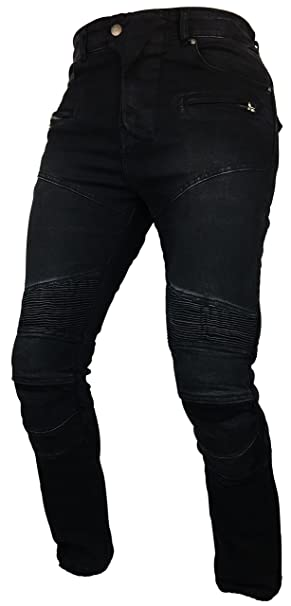Broeken MENS NEW MOTORBIKE MOTORCYCLE REINFORCED JEANS WITH PROTECTIVE LINING TROUSER