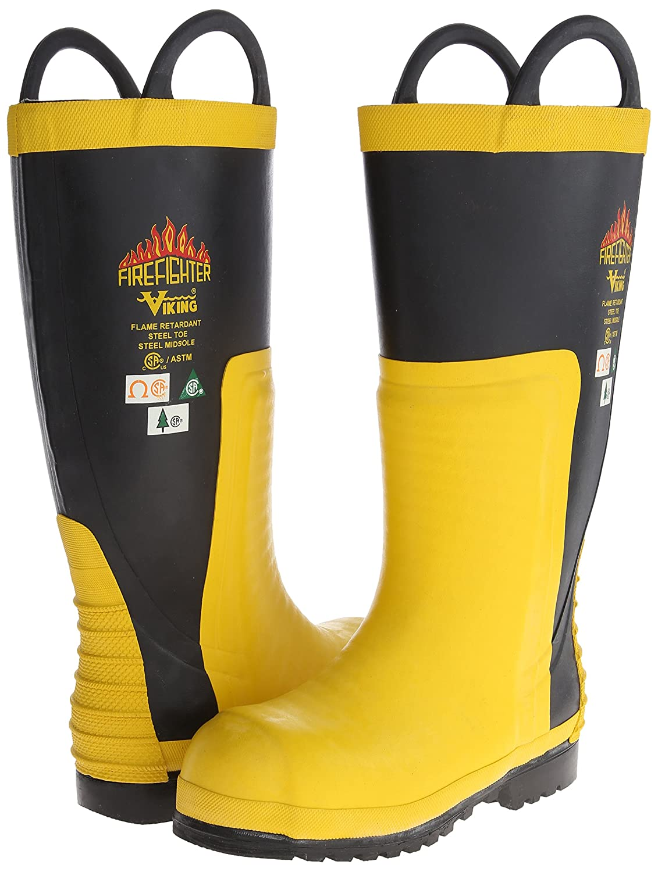 b3d1b302532 Viking Footwear Firefighter Chainsaw Waterproof FR Boot