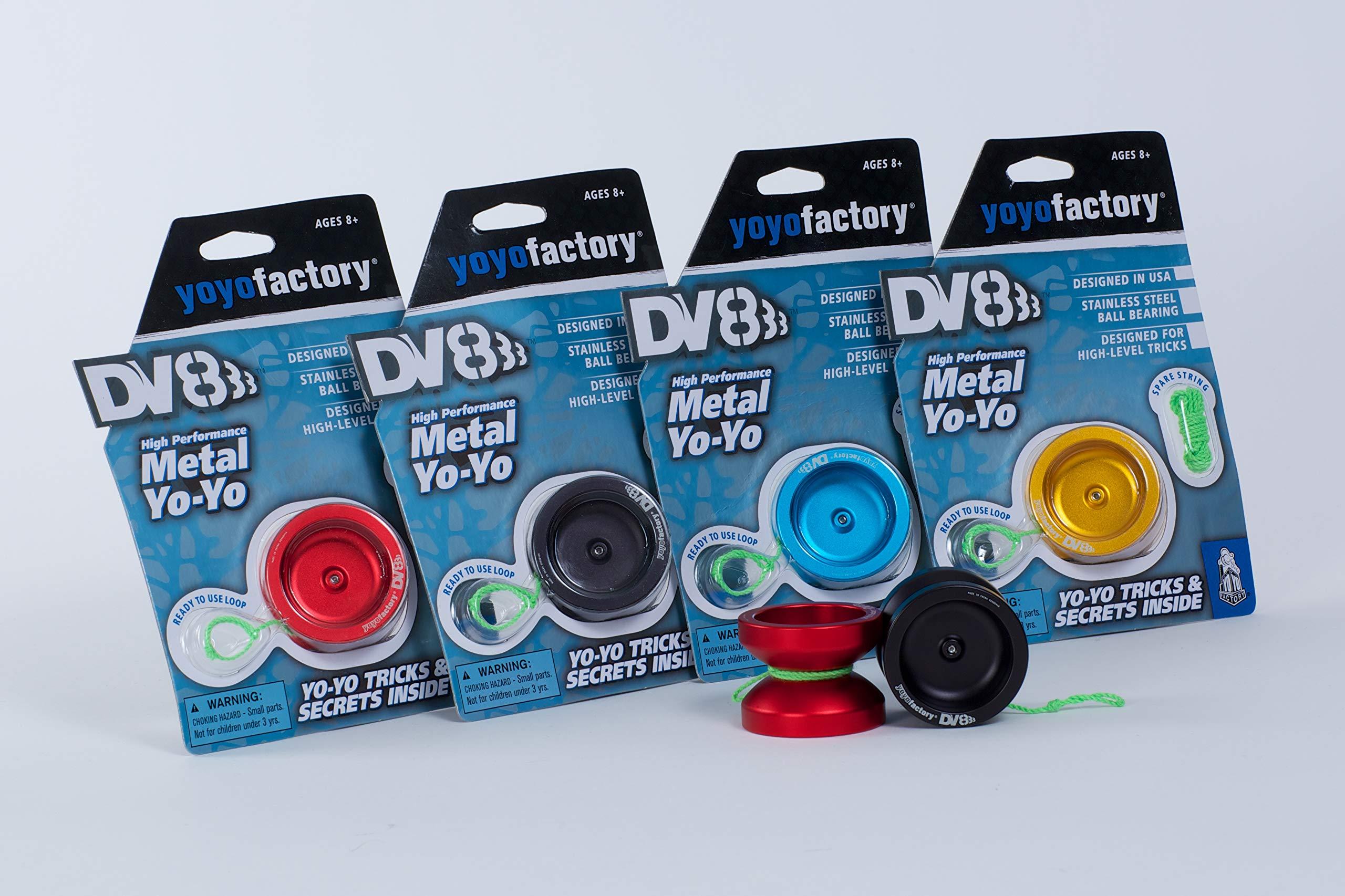 DV888 Yoyo by YoYoFactory Color Aqua