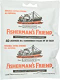 Fisherman's Friend Original Extra Strong Cough Suppressant Lozenges, 40-Count Bags (Pack of 12)