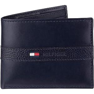 TOMMY HILFIGER Eton Mini CC Wallet, Cartera para Hombre ...