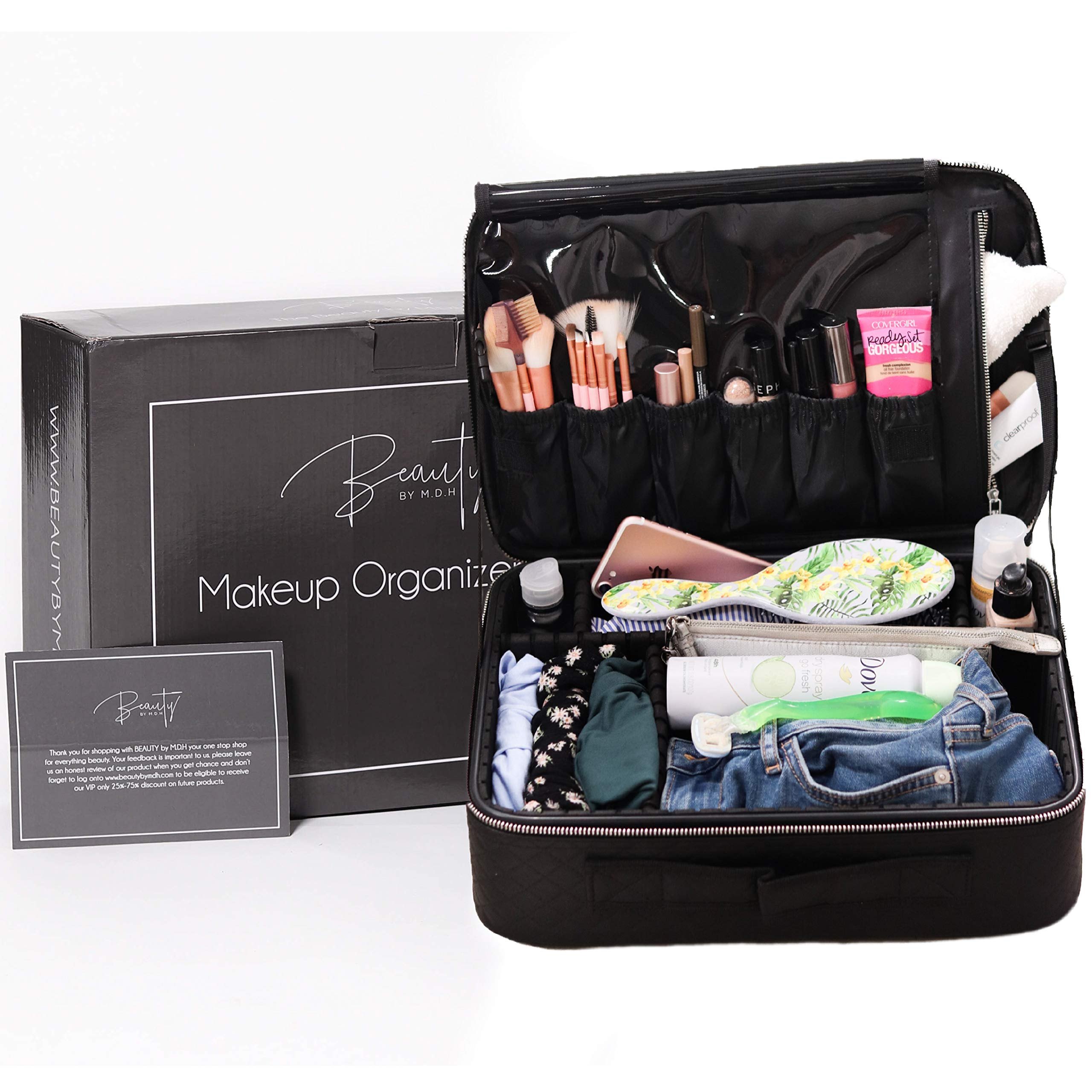 2776c9e835c4 Travel Makeup Train Case by Beauty by MDH - Professional Artist ...