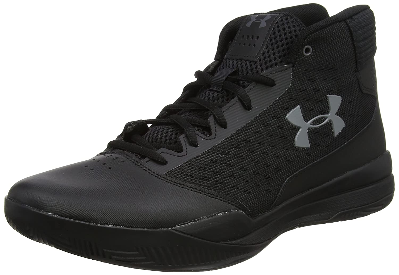 Under Armour Men's Jet 2017 Basketball Shoe B01N0QMCFT 9.5 M US|Black (001)/Black