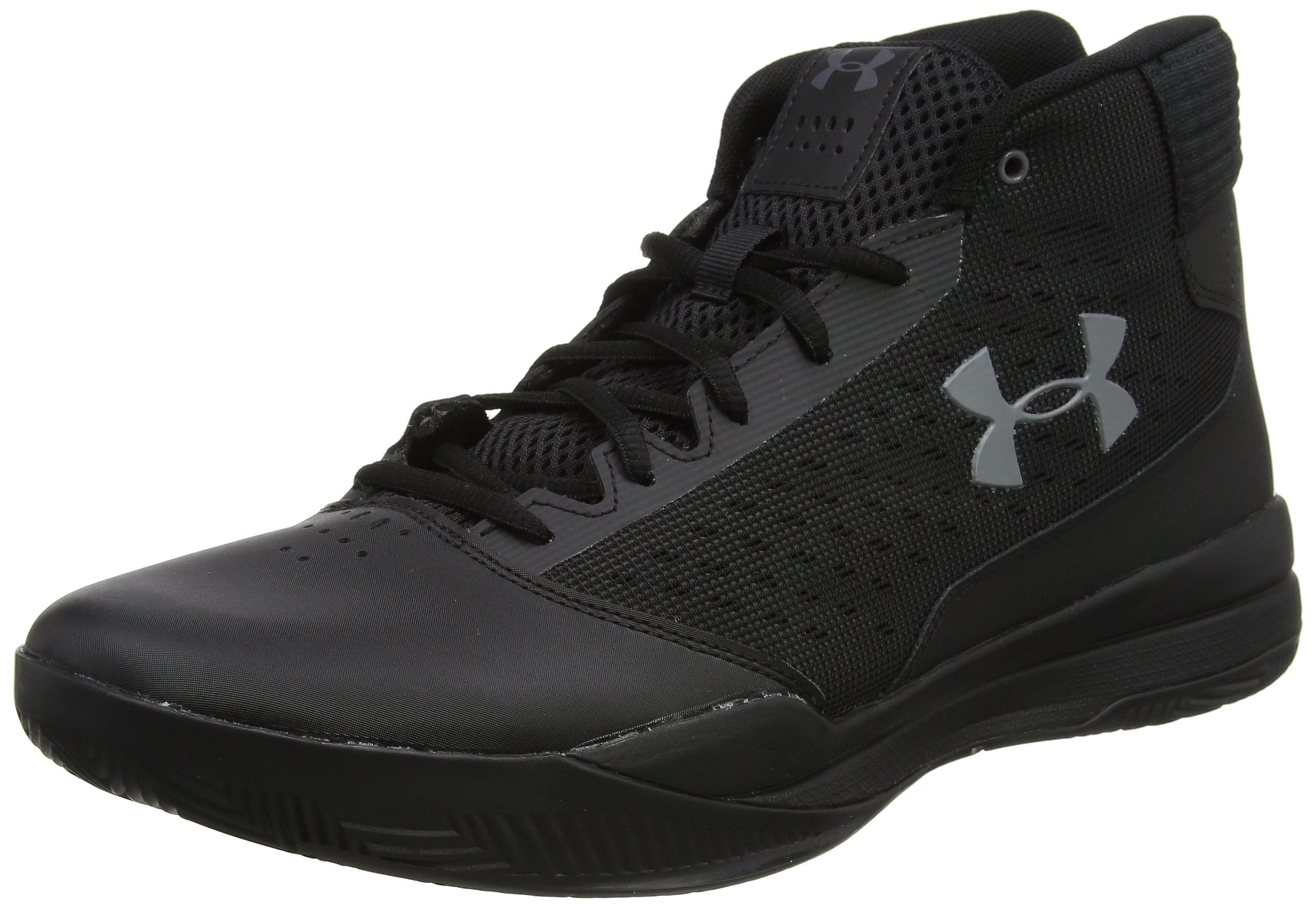 Under Armour Men's Jet 2017 Basketball Shoe, Black, 14