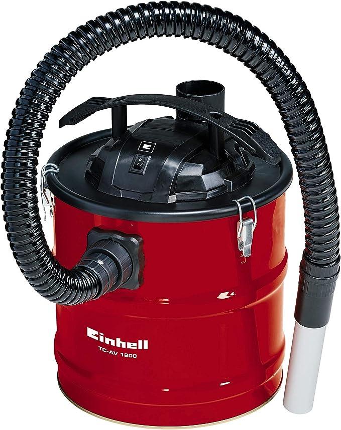 Einhell 2351650 Aspirador con Filtro Integrado Chimeneas TC-AV Potencia 1200 w, 240 V, Rojo: Amazon.es: Bricolaje y herramientas