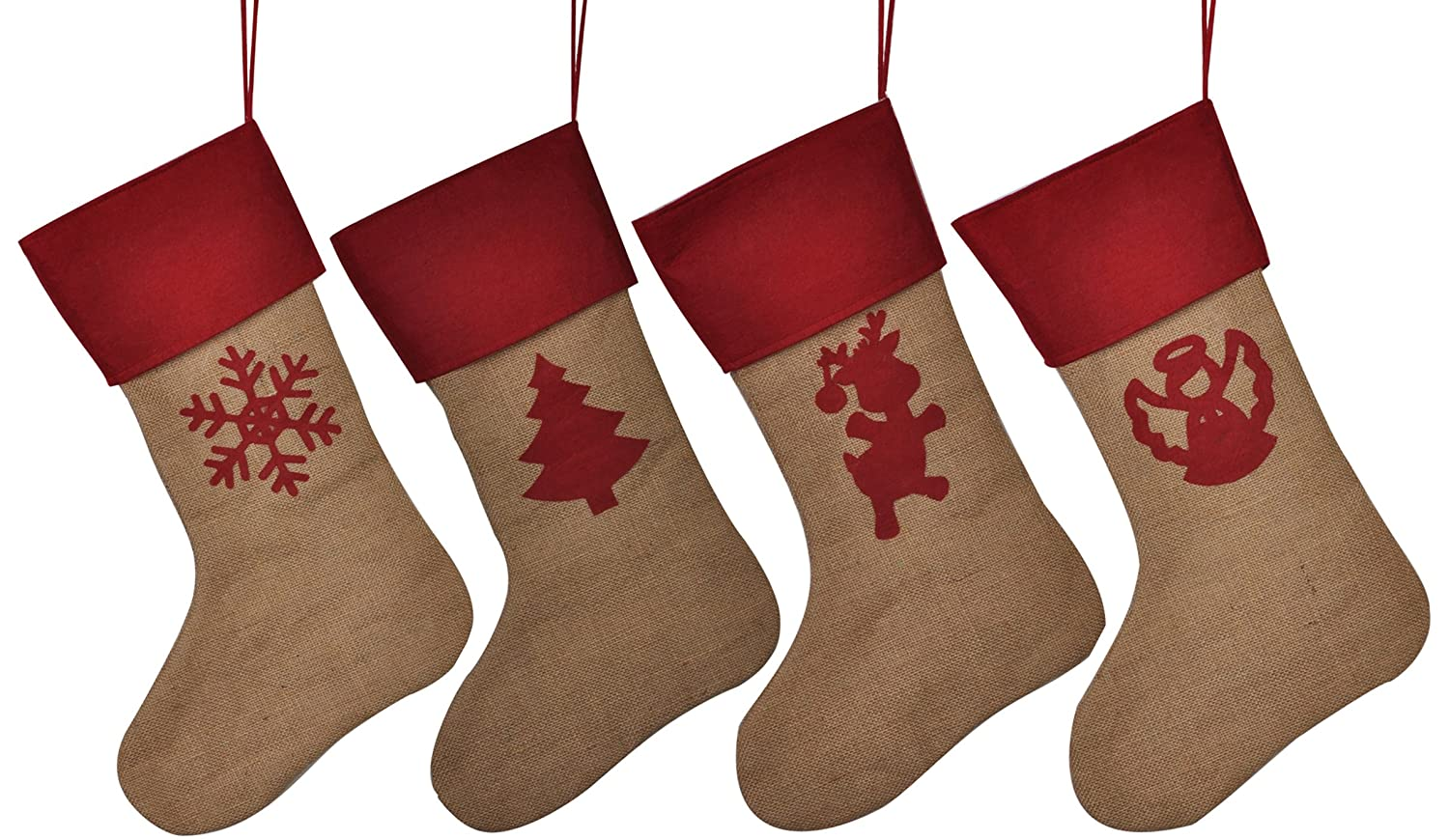 Amazon.com: HUAN XUN Customized Name Personalized Christmas Stockings Best Gifts Bags Fireplace Decor for Home Familys: Jewelry