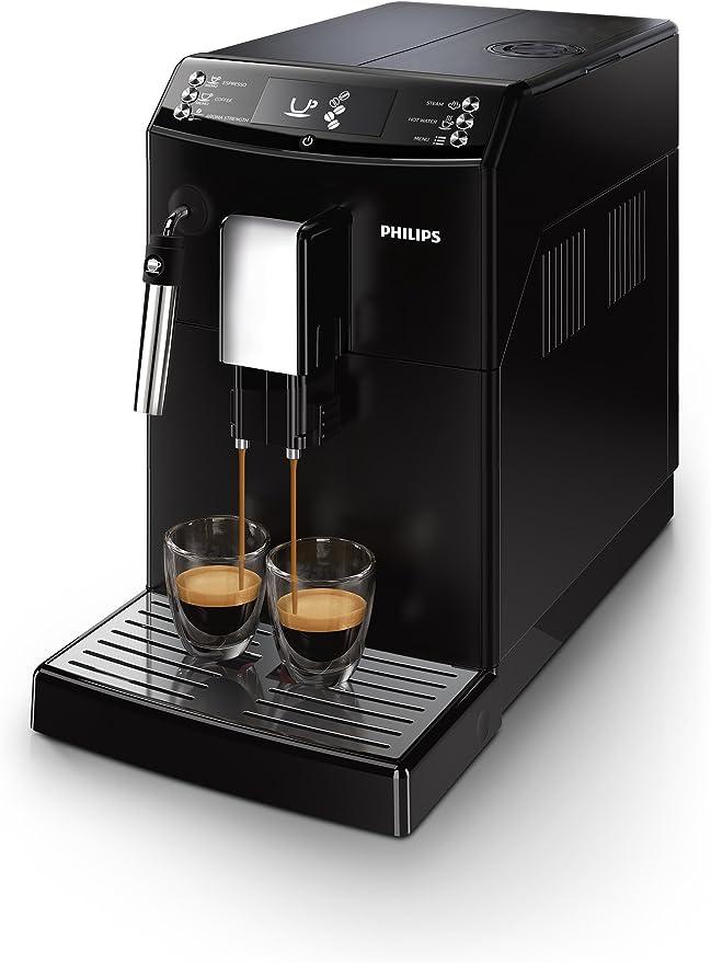 Philips Serie 3000 EP3510/00 - Cafetera Súper Automática, 2 Bebidas de Café, Pannarello Incorporado, Molinillo Ceramico: 375.84: Amazon.es: Hogar