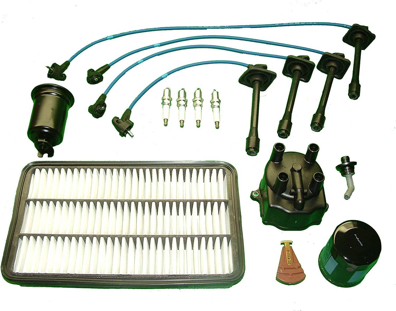 TBK Tune Up Kit Replacement for Toyota Camry 4 Cylinder 2.2L 5SFE 1995
