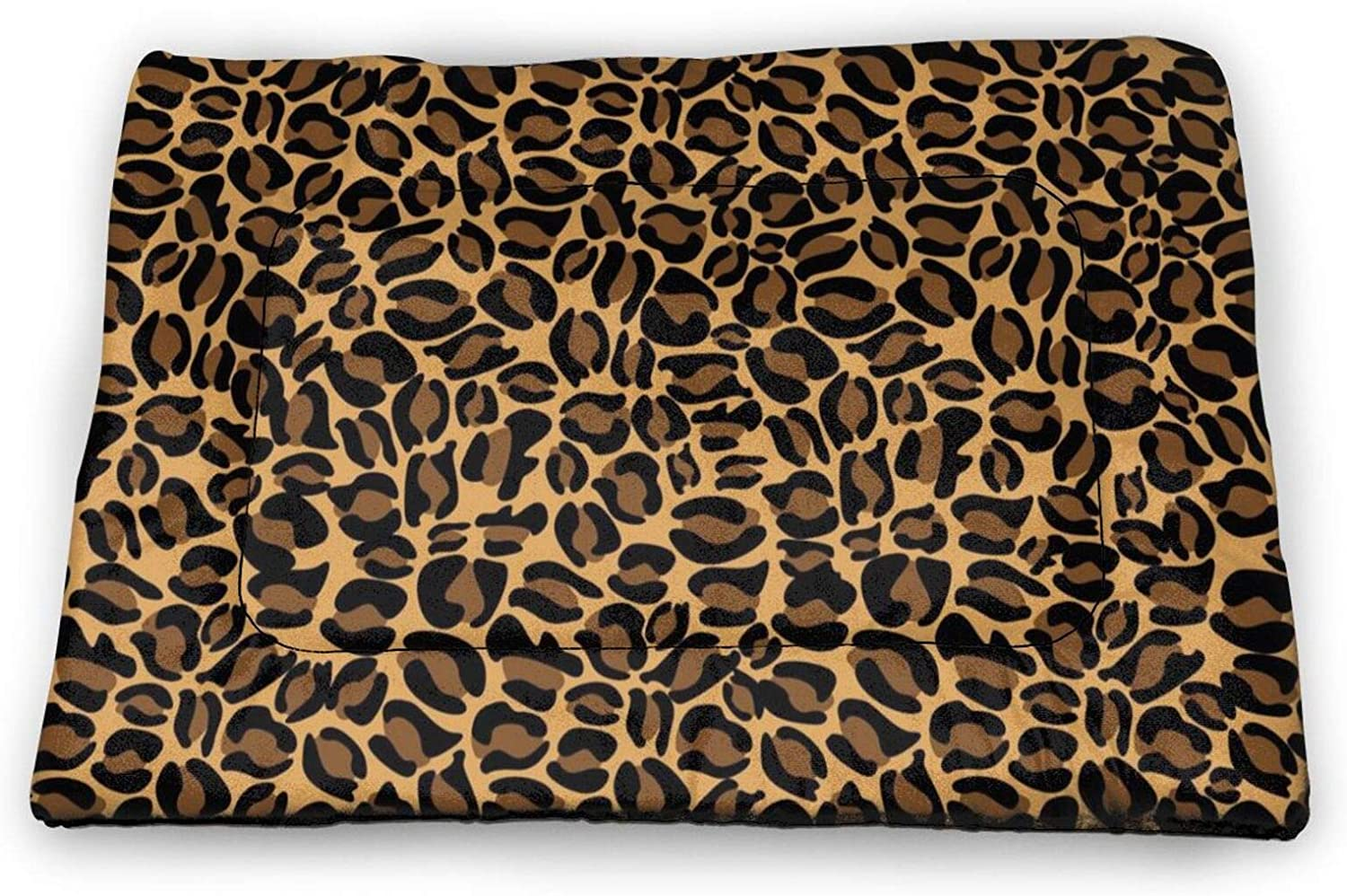Neddelo Cheetah Print Pet Mat£¬Washable Pads for Dogs,Reusable Puppy Training Pads