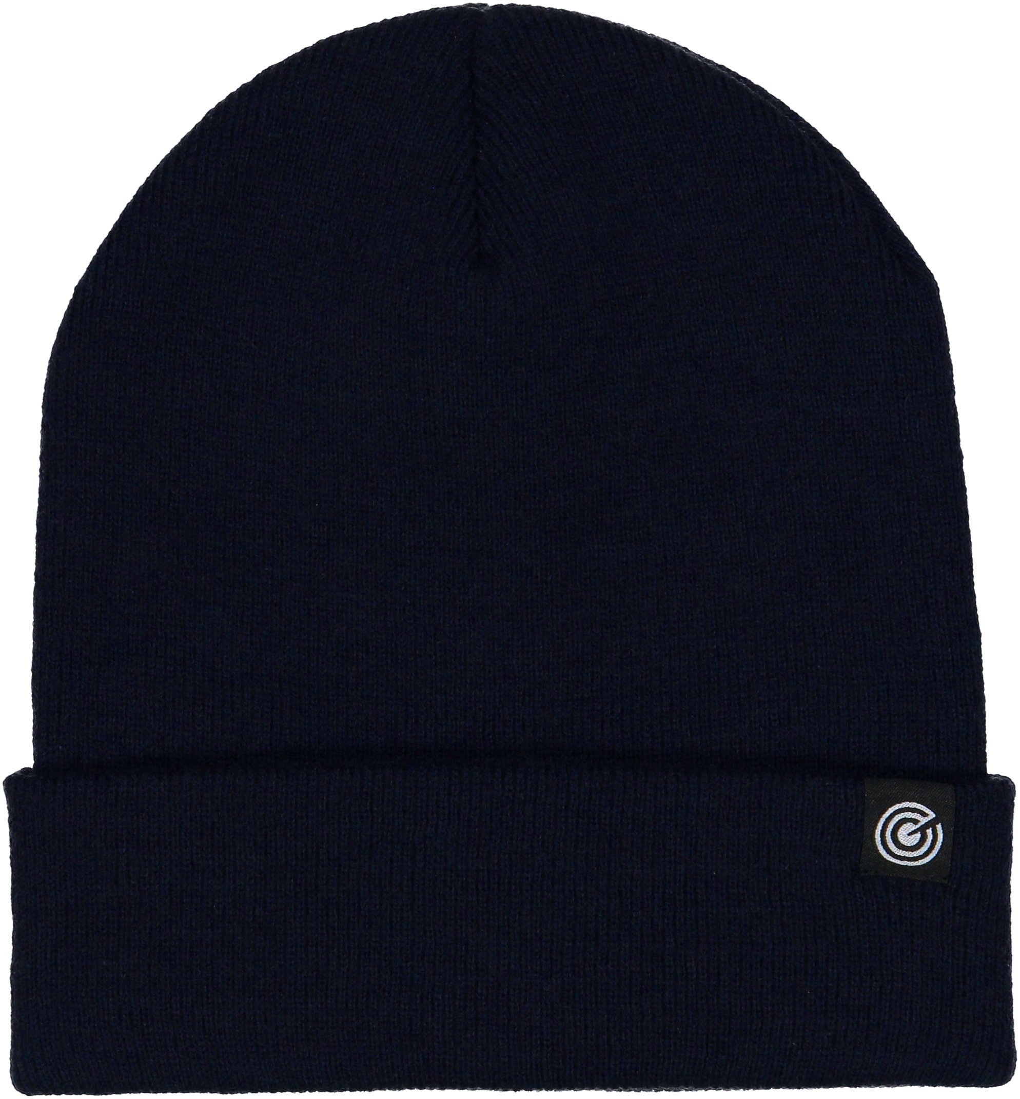 Cuffed Beanie - Warm Daily Beanie Hat with Foldover Cuff - Stylish Winter Colors,Navy,One Size