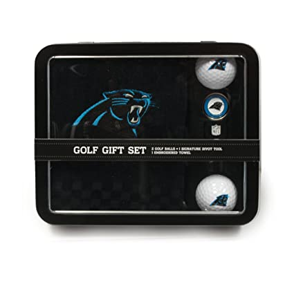 03f9a603 Team Golf NFL Gift Set Embroidered Golf Towel, 2 Golf Balls, & Divot Tool  with Removable Double-Sided Magnetic Ball Marker