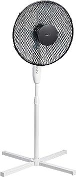 AmazonBasics — ventilador de pie oscilante de 3 velocidades, 40 W