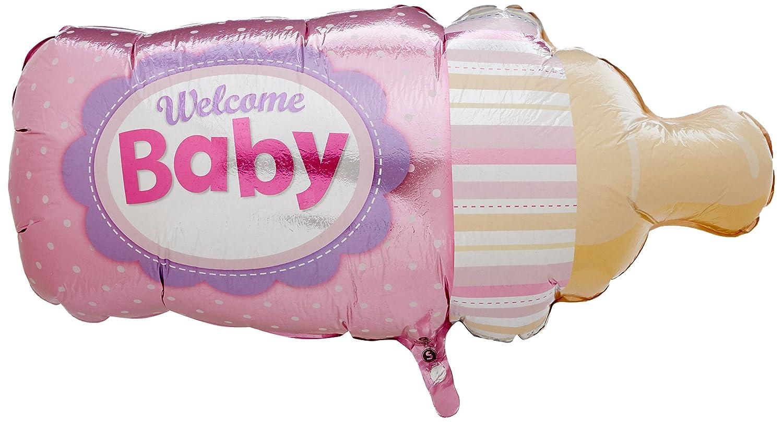 Blue Balloon 39 Pioneer Balloon Company 17231 Welcome Baby Bottle Shape 39