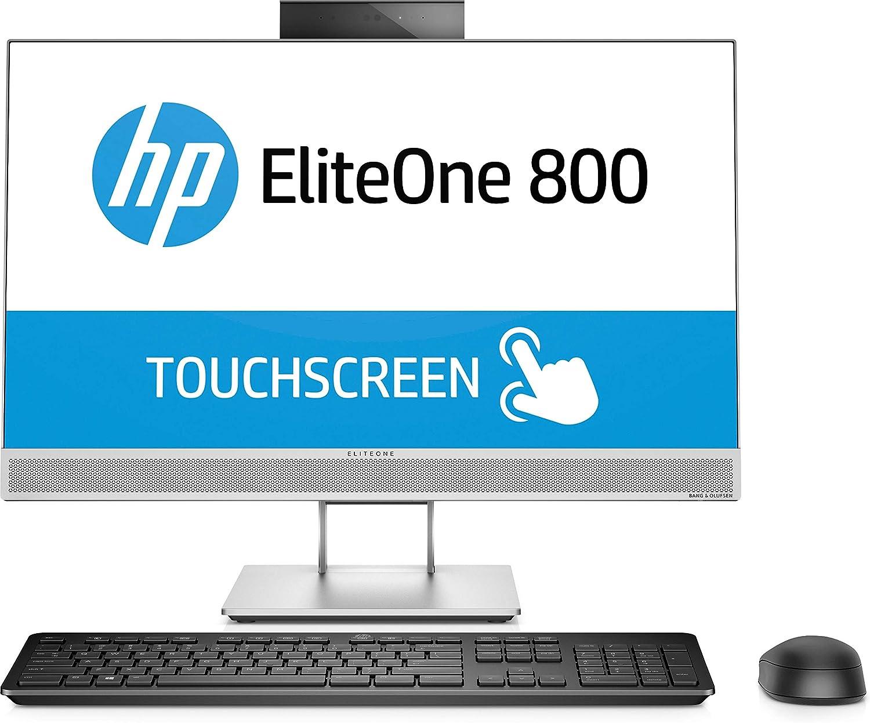 HP EliteOne 800 G4 3.2GHz i7-8700 Intel® Core™ i7 di ottava generazione 23.8' 1920 x 1080Pixel Touch screen Argento PC All-in-one 4KX13ET