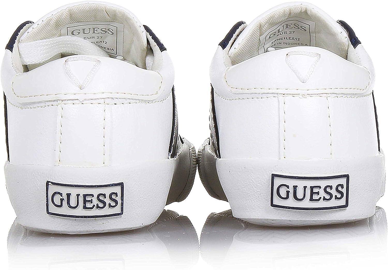 Guess Kids Baskets Garçon Theo Blanc