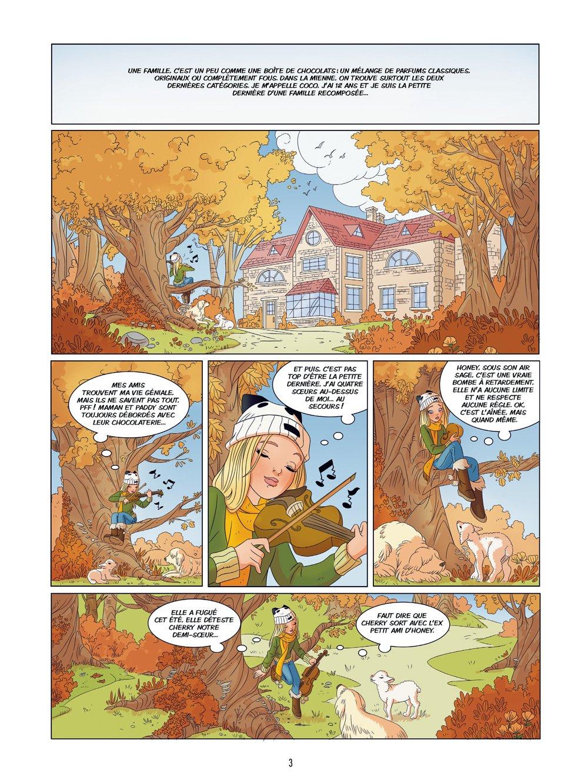 Amazon.fr - Les Filles au Chocolat T4 - Coeur Coco - Raymond Sebastien,  Véronique Grisseaux, Claudia Forcelloni/Yellowhale - Livres