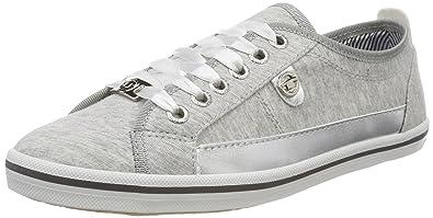 4891408, Chaussures Bateau Femme, Gris, 42 EUTom Tailor