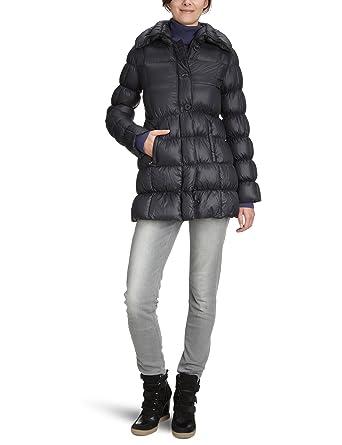 Canadian Classics - Abrigo de manga larga para mujer, talla 40, color negro (