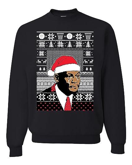 Crying Jordan Face Ugly Christmas Sweatshirt Unisex Sweatshirt At