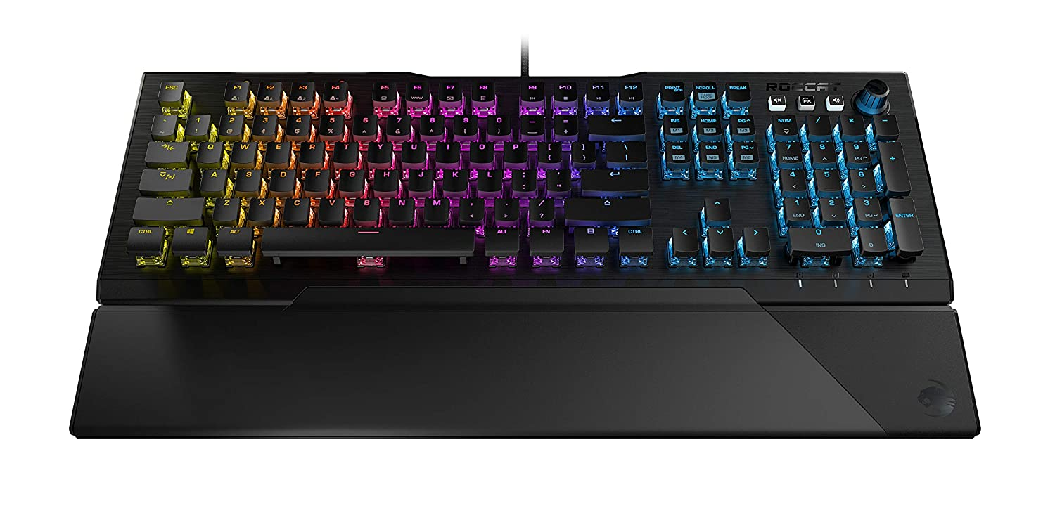 Vulcan 121 Aimo RGB Mechanical Gaming Keyboard – Brown Switches