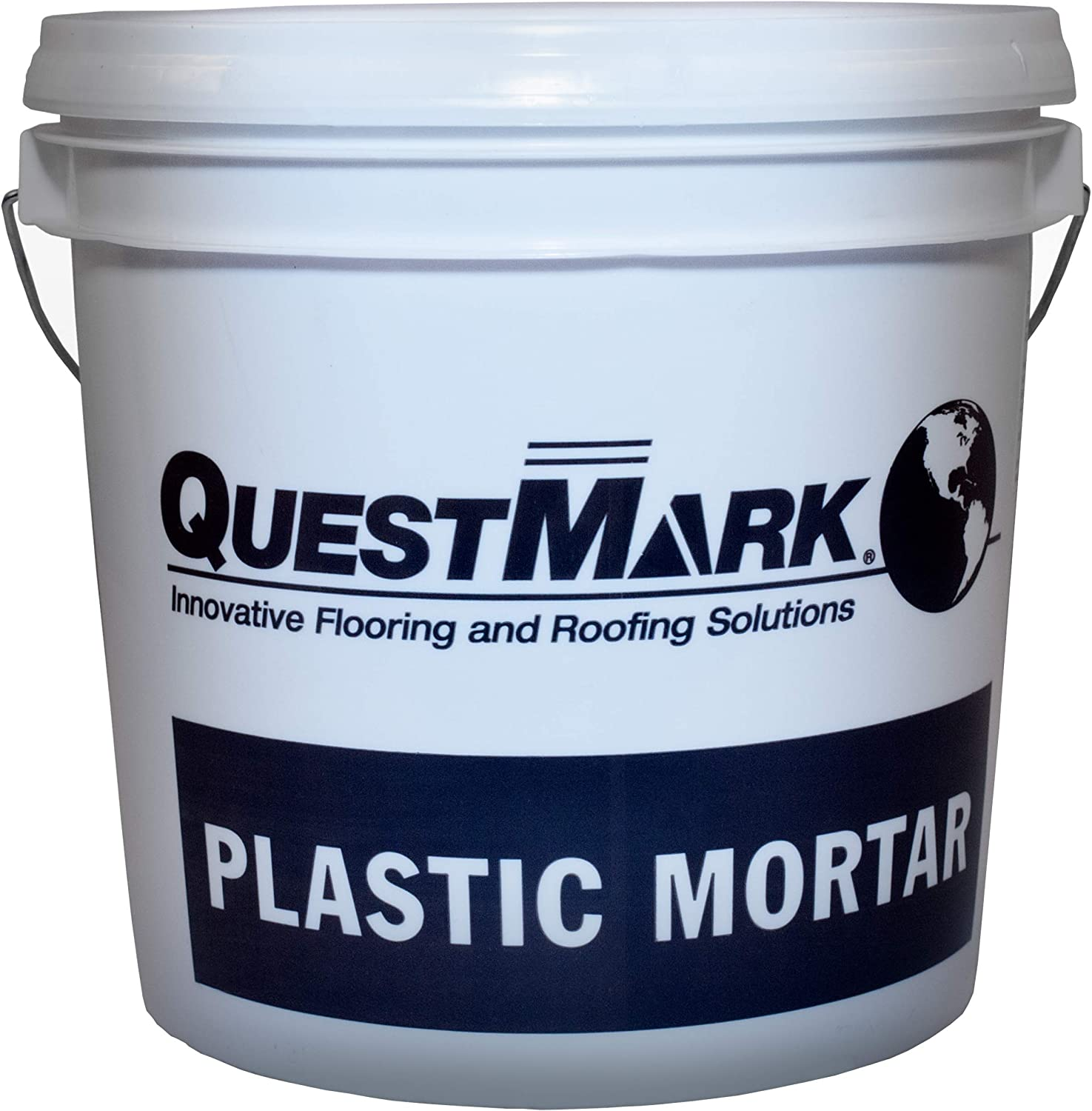 QuestMark 2123 Food Formulation Epoxy Concrete Patch, 2 Gallon, Red - Three Component 100% Solids Mortar - Fill Cracks and Holes in USDA Federally Inspected Food Plants