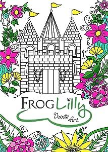 FrogLilly Doodle Art libro para colorear para adultos con