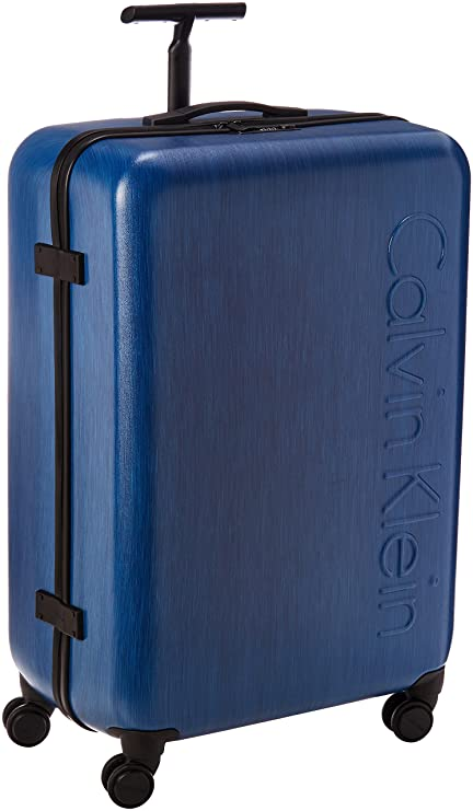 3b0ab88012a Calvin Klein Southampton 28 Inch Spinner, Blue, One Size: Amazon.co ...