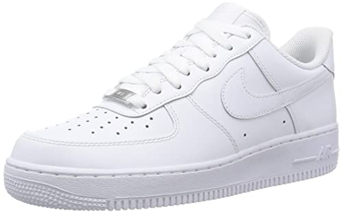the latest df184 50fbd Nike Air Force 1 07, Scarpe da Ginnastica Uomo, Bianco, 48.5  Amazon.it   Scarpe e borse
