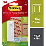 17040ES COMMAND SAWTOOTH PICTURE HANGER W/WATER RESISTANT STRIPS